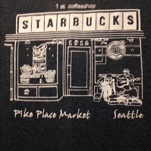 Starbucks Pike Place Market tee adult medium